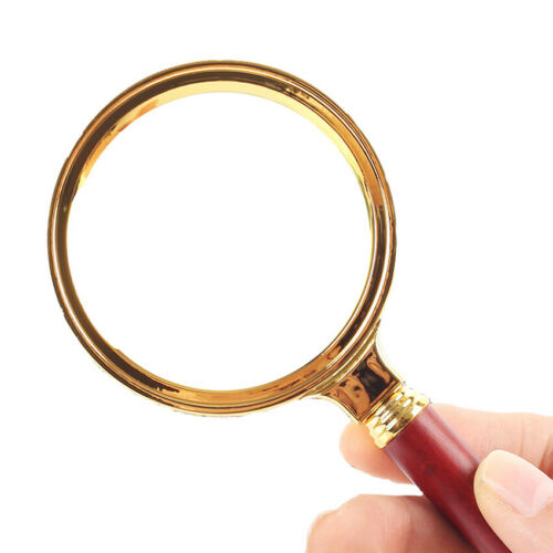 20X Magnification Handheld Reading Magnifier Magnifying Glass Low Vision Aid