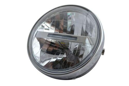 "LED Motorbike Headlight 6.5/"" 6 1//2/"" Retro Custom Project Cafe Racer Street Bike"