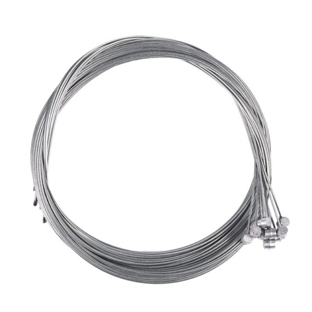 10pcs 1.75m Road Bike MTB Gear Bicycle Brake Line Shifter Core Inner Cable Wire