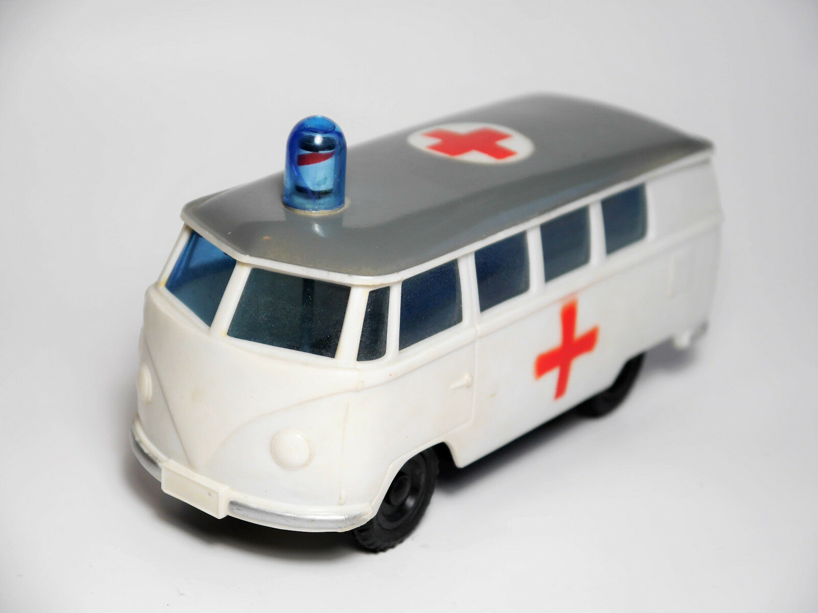 VW Type 2 t1 nez-Camionnette Window Bus rouge Cross Plastic friction ok Hong Kong 14 C A