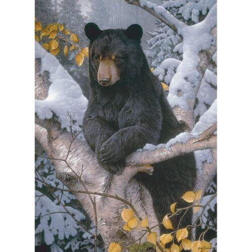 DIY 5D Diamond Mosaic Embroidery Black Bear Kit Art Cross Stitch Souvenir
