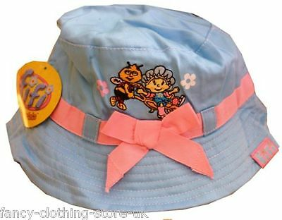Mr Men Fifi Flowertots Sun Hat Cap Estate Spiaggia-mostra Il Titolo Originale