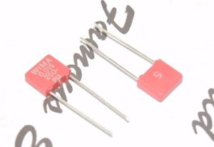 0,015µF 15nF 10pcs-WIMA MKS2 0.015uF 63V 5/% pitch:5mm Capacitor