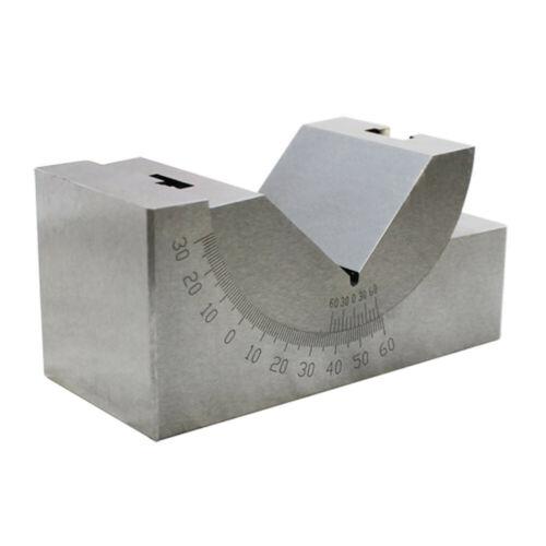 Precision 0-60 Degree Angle Block 4x1-13//16x1-13//16