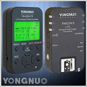 D700 D300S YONGNUO YN-622N 1 x TX D200 2 x RX i-TTL LCD wireless flash controller wireless flash trigger transceiver DSLR for Nikon D70 D5200 D5000 D5300 D3100 D600 D7100 D3000 D7000 D90 D5100 D70S D800 D3200 D80