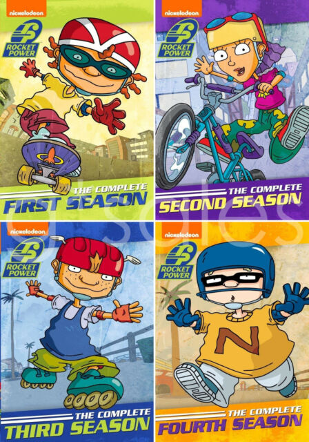 Rocket Power Complete Nickelodeon TV Series Seasons 1 2 3 4 (1-4) NEW DVD  SET