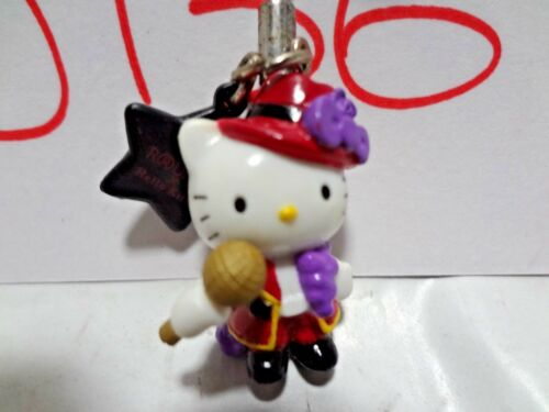 Sanrio Hello Kitty Ikemen Karaoke Idol Cellphone Strap Round One Japan J136 J137