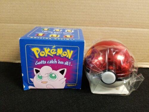 NEW Pokemon 23K 23 K Gold Card JIGGLYPUFF Burgerking W// COA Blue Box /& Pokeball