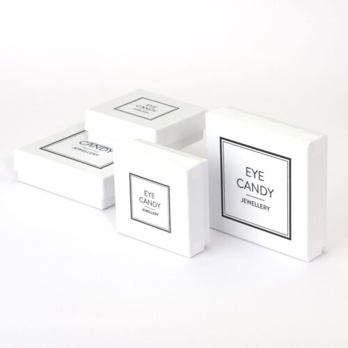 Eye Candy Damen-Ohrstecker Herz 925 Sterling Silber Zirkonia 9mm ECJ-ER0015