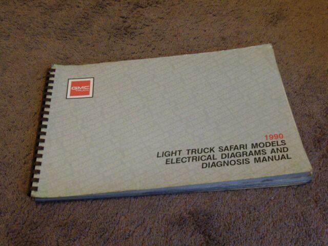 1990 Gmc M  L Safari Mini Van Electrical Wiring Diagrams