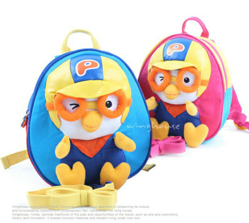 PORORO 3D backpack Lost child prevention Harness Belt Baby,Kids character bag