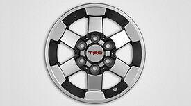 """2007-2015 FJ CRUISER NEW FACTORY TRD 16/"""" ALLOY 6 SPOKE SILVER WHEEL PT904-35070"""