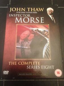 INSPECTOR-MORSE-JOHN-THAW-KEVIN-WHATELY-SERIES-EIGHT-8-NEW