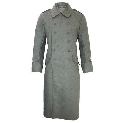 Ww2 German M40 Wool Greatcoat Repro, Germany Ww2 Trench Coat