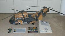 GI Joe Eaglehawk Helicopter with Lift Ticket Pilot MISB