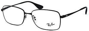 Ray-Ban-Damen-Herren-Brillenfassung-RB6336M-2503-55mm-schwarz-Metall-475-23
