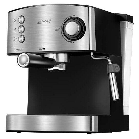 Cafetera Expresso Manual 20 Bares, 1,7 L, Espumador de Leche, Calienta Tazas