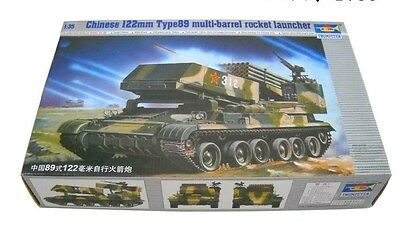 Trumpeter 1/35 00307 Chinese 122mm Type 89 Rocket