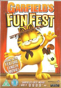 GARFIELD-039-s-FUN-FEST-Movie-New-UNSEALED-Region-1