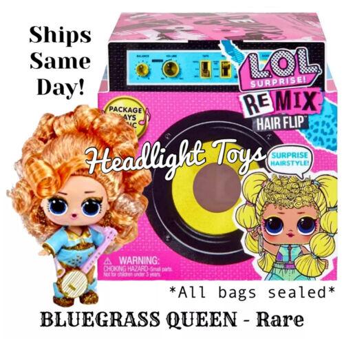 Bluegrass Queen RARE LOL Surprise REMIX Hair Flip Big Sister Doll New Sealed