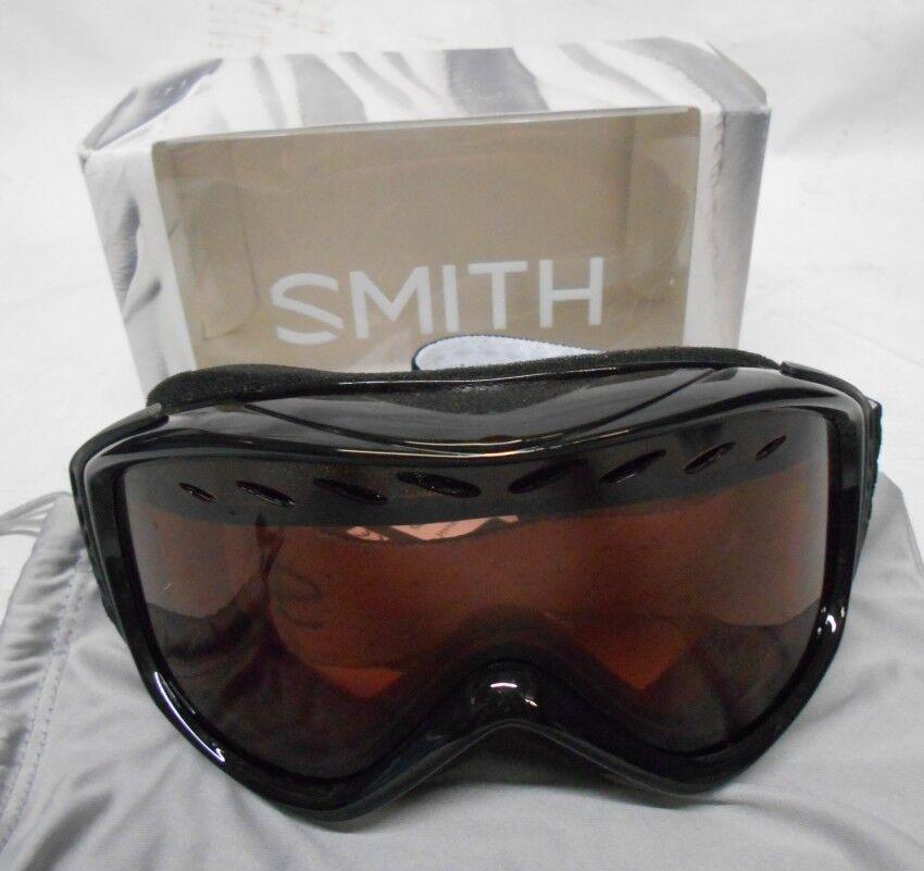 Smith Optics Transit Women's Airflow Series Snow Snowmobile Goggles Eyewear Blk