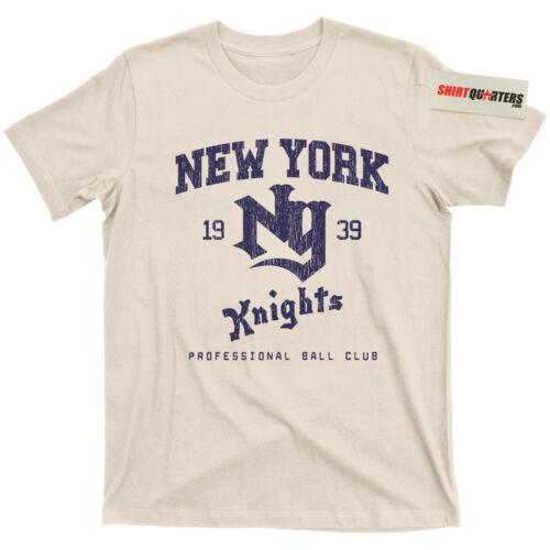The Natural New York New York Knights Baseball Roy Hobbs Yankees 2 Blu ray Tee T Shirt