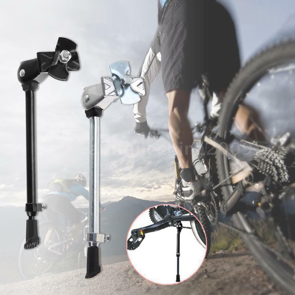 Mountainbike Fahrrad Zyklus Kick Stand Einstellbare Gummifuß Duty Pro E4P9 W0V5