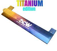 Scw Titanium K20 K24 Vtec Spark Plug Wire Cover Valve Cover Dc5 Rsx Si Rare