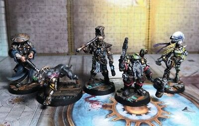 Orlock Gang painted Necromunda Warhammer 40k Hired guns