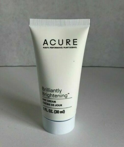Acure Day Cream Brilliantly Brightening 1 Oz Travel Size