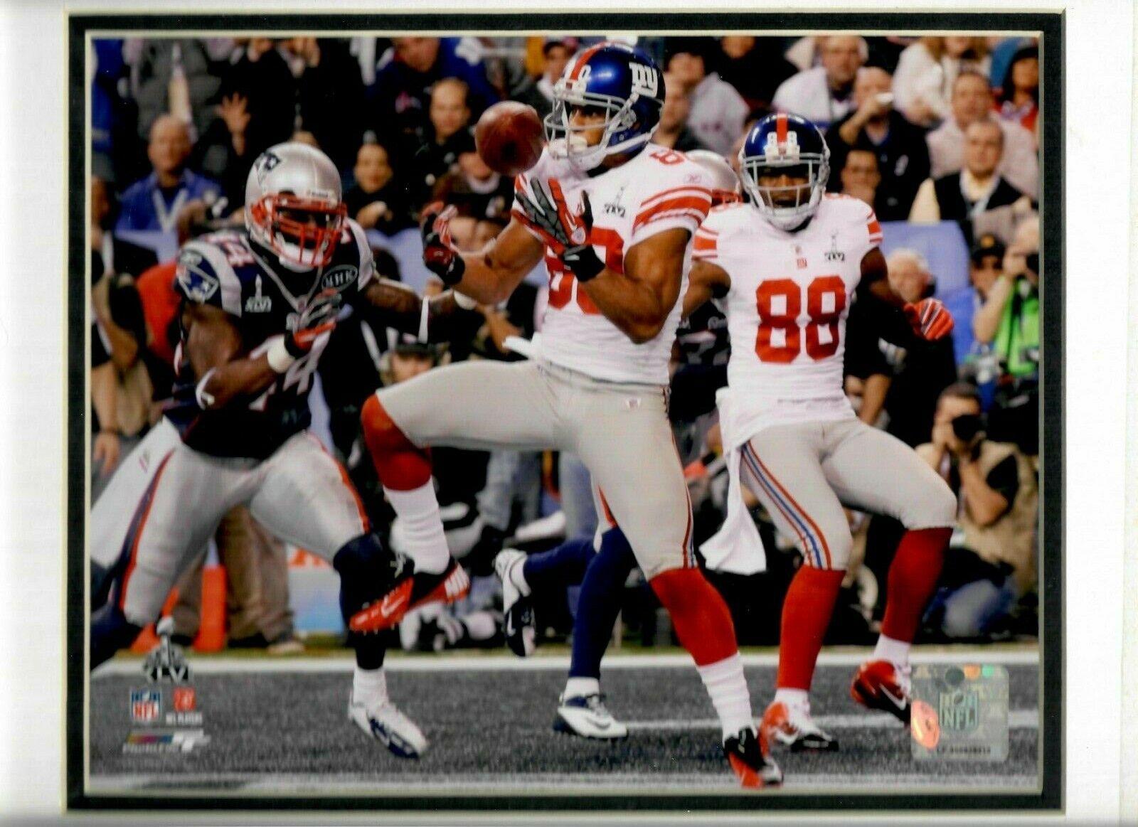 2012 SUPER BOWL XLVI Ahmad Bradshaw TOUCHDOWN New York Giants poster 8x10 photo