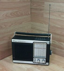 Vintage-Sears-800-24270-800-Solid-State-Multi-Band-AM-FM-Radio-READ