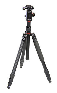 65-034-1288-QE-IT-Aluminum-Panoramic-Head-Tripod-w-Quick-Release-Mount-for-Cameras