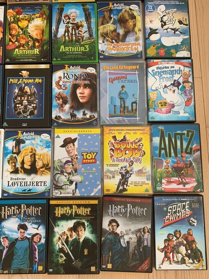 Forskellige , DVD, familiefilm