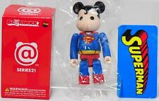 "Medicom Bearbrick Series 21 Hero Secret ""Superman"" Be@rbrick"