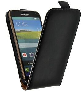 handy tasche samsung galaxy s5 cover flip case f r schutz. Black Bedroom Furniture Sets. Home Design Ideas