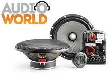 KIT FOCAL 165 AS ALTOPARLANTI WOOFER A 2 VIE SEPARATI + TWEETER + CROSSOVER