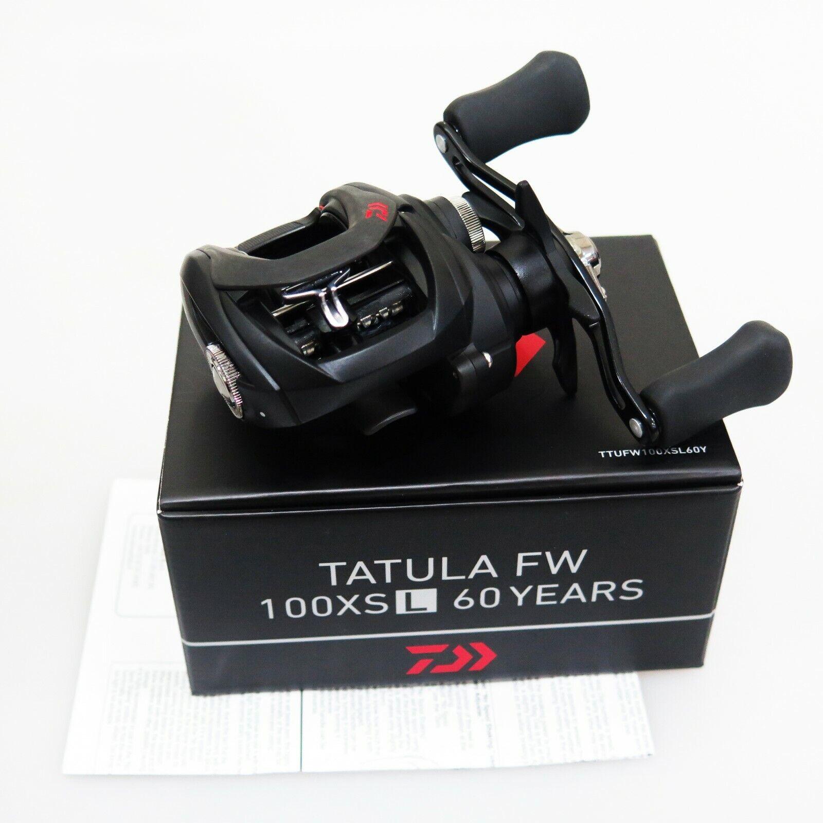 18 Daiwa Tatula FW 100XSL 60 Años Aniversario Edición Limitada Cocherete Manija Izquierda