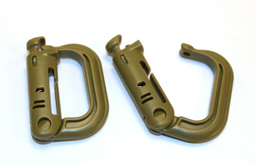 MOLLE Skirmish Army Airsoft Rapid Locks Pairs Survival MOD Bug Out,