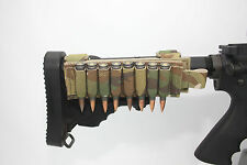 AAT Multicam Pouch 8 Shell Sniper Rifle Collapsible Stock Made In USA