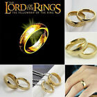 1PC Lord of the Ring Gold The Hobbit one Ring Wedding Band Ring New Year Gift