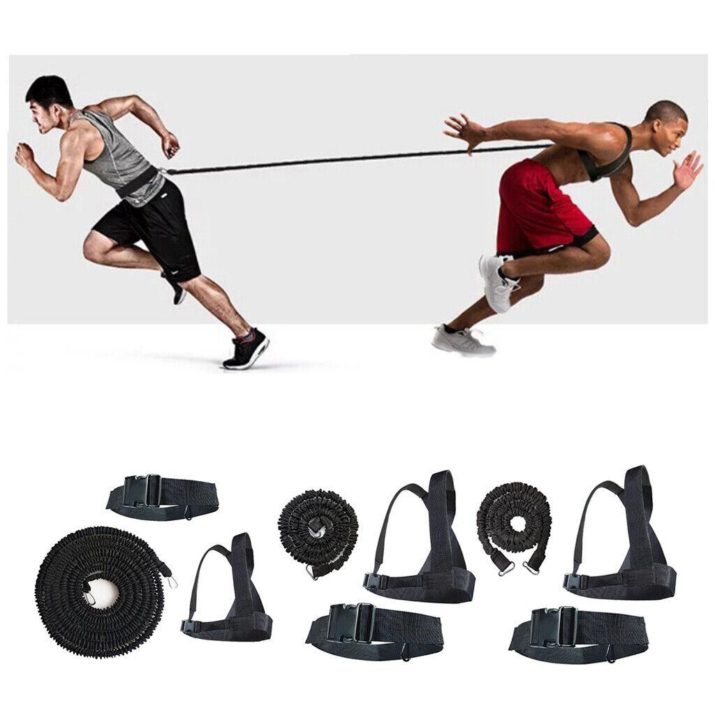 Fitness Exercise Duty Speed Resistance Sled Harness Pull Strap Belt Footbal Run