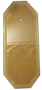 Octagon-Beveled-Gray-Brown-Glass-Panel-12Pt-Star-Chandelier-Lamp-Repair-8-11-16-034