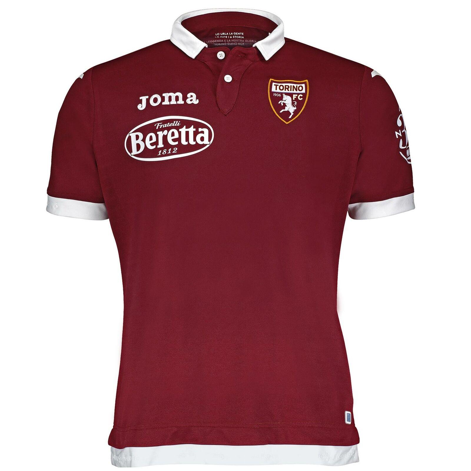 Joma Torino FC Casa Maglia 1920 Serie a Italiano Calcio Maroons