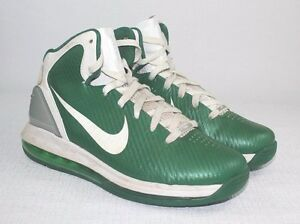 online store c3ad0 53ea9 Image is loading NIKE-AIR-MAX-HYPERDUNK-2010-TB-2010-GREEN-