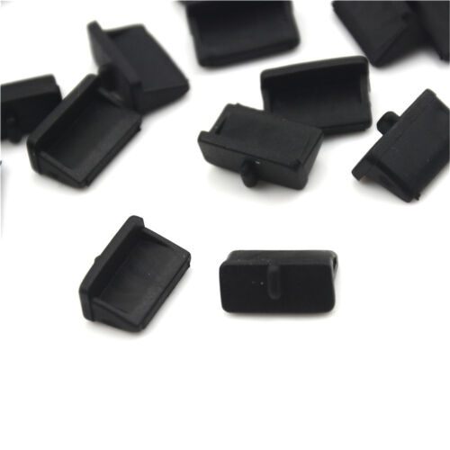 20pcs Soft Plastic USB Port Plug Cover Cap Anti Dust Protector for Female ME wy