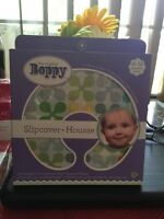 Original Boppy Nursing & Infant Support Pillow Cottony Cute Slipcover Jacks