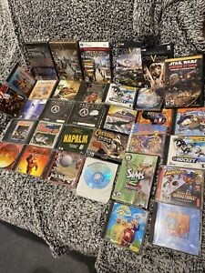 Lot of PC Games Computer Software, Video Game Lot For Computer