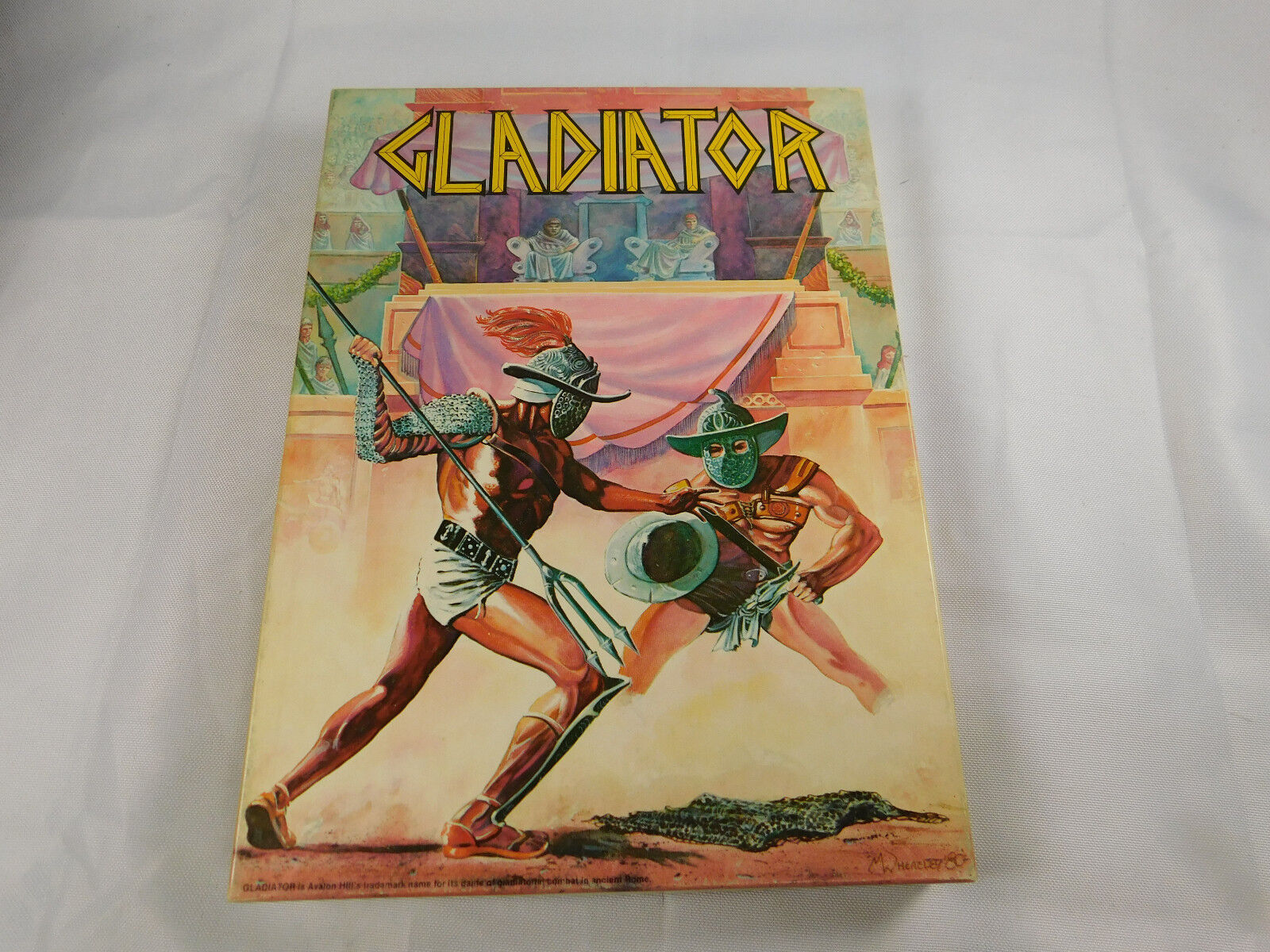 Avalon Hill Gladiator 1981 non perforé complet excellent état