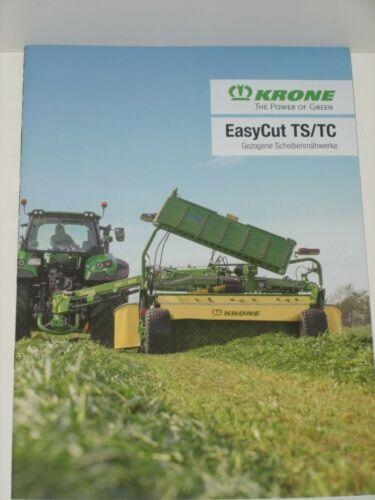 KRONE EasyCut TS//TC gezogene Scheibenmähwerke Prospekt von 09//2019 4